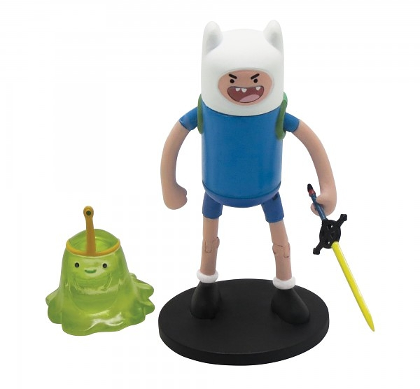 Набор фигурок Adventure Time 2 в 1. Finn with Slimeprinces (6 см)