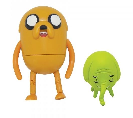 Набор фигурок Adventure Time 2 в 1. Jake with Treetrunks (6 см)