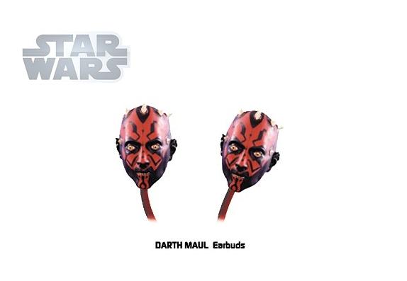 Наушники вставные Star Wars. Darth Maul от 1С Интерес