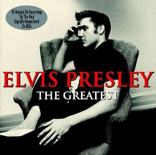 Elvis Presley. The Greatest (3 CD)140 различных альбомов и синглов Пресли получили статус золотых (gold), платиновых (platinum) и мультиплатиновых<br>