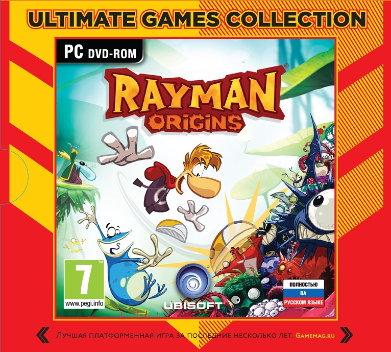 Rayman Origins (Ultimate Games) [PC-Jewel] rayman raving rabbids