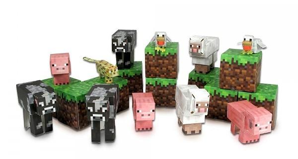 Minecraft Papercraft. Overworld Animal Mobs (30 деталей)С игровым набором Minecraft Papercraft. Overworld Animal Mobs вы легко соберете из бумаги живой мир героев компьютерной игры.<br>