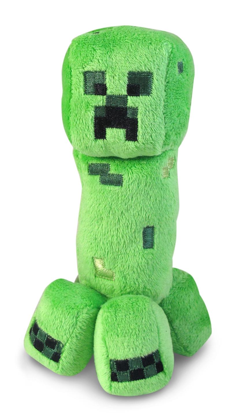 Мягкая игрушка Minecraft. Creeper (18 см)Мягкая игрушка Creeper, выпущенная фирмой Jazwares, станет хорошим подарком для поклонников игры.<br>