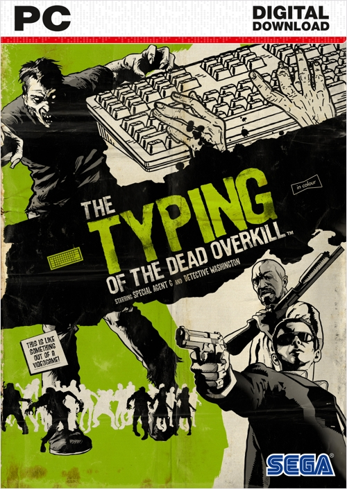 Typing of the Dead. Overkill [PC, Цифровая версия] (Цифровая версия) the house of the dead overkill extended cut ps3