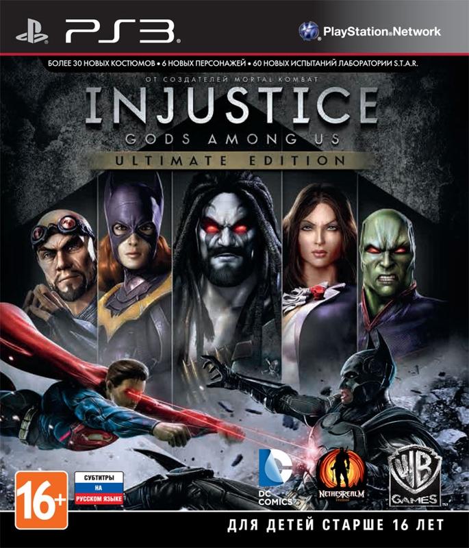 Injustice. Gods Among Us. Ultimate Edition [PS3] warner bros interactive entertainment mortal kombat