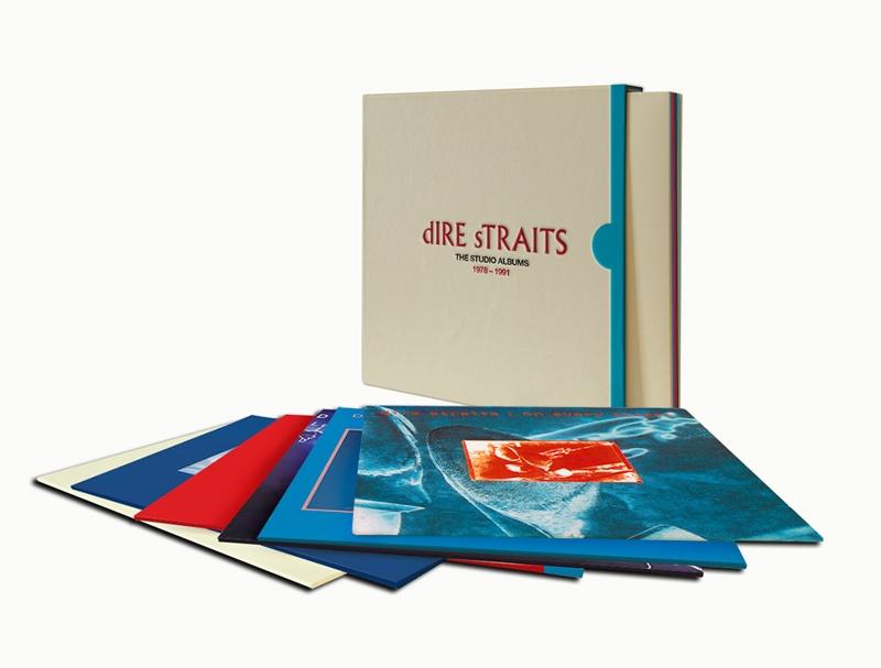 Dire Straits. The Studio Albums 1978–1991 (8 LP) от 1С Интерес