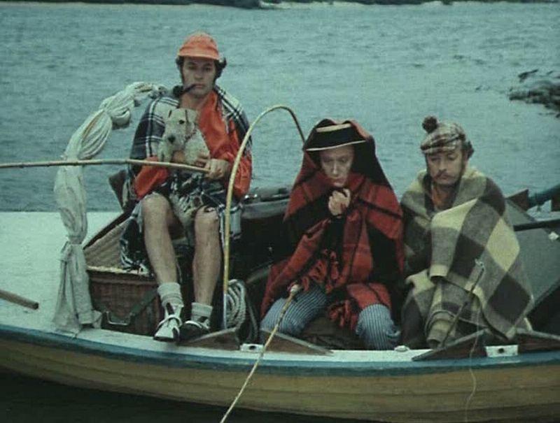 Трое в лодке, не считая собаки (Blu-ray) от 1С Интерес