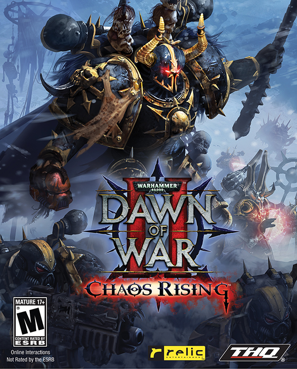 Warhammer 40 000. Dawn of War II. Chaos Rising (Цифровая версия) warhammer 40 000 dawn of war iii цифровая версия
