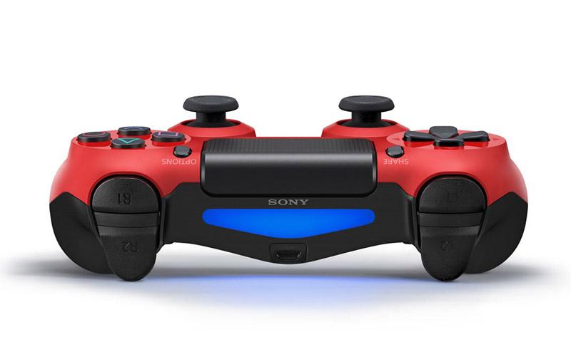 Беспроводной геймпад DualShock 4 Magma Red для PS4 (красный) от 1С Интерес