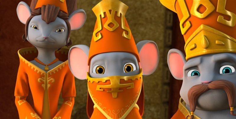 Приключения мышонка (Blu-ray) от 1С Интерес