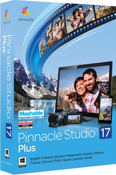 Pinnacle Studio 17 Plus (Цифровая версия)Обновленная версия Pinnacle Studio 17 Plus предлагает более продвинутый функционал для обработки видео.<br>