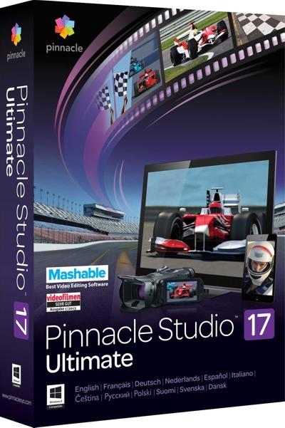 Pinnacle Studio 17 Ultimate (Цифровая версия)Pinnacle Studio 17 Ultimate предлагает бескомпромиссную производительность, поразительную скорость работы и неограниченные возможности для творчества.<br>