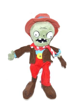 Мягкая игрушка Plants vs Zombies: Зомби Ковбой (30 см)