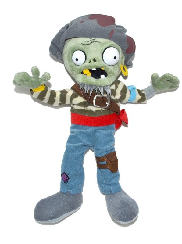 Мягкая игрушка Plants vs Zombies: Зомби Моряк (30 см)Мягкая игрушка Зомби Моряк создана по мотивам популярной компьютерной игры &amp;laquo;Растения против Зомби&amp;raquo;.<br>