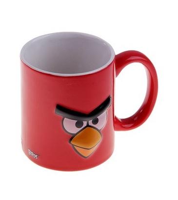 Angry Birds. Кружка красная Птичка 3D (300 мл) от 1С Интерес