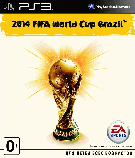 2014 FIFA World Cup Brazil. Champion's Edition [PS3] 2014 fifa world cup brazil champion s edition [ps3]