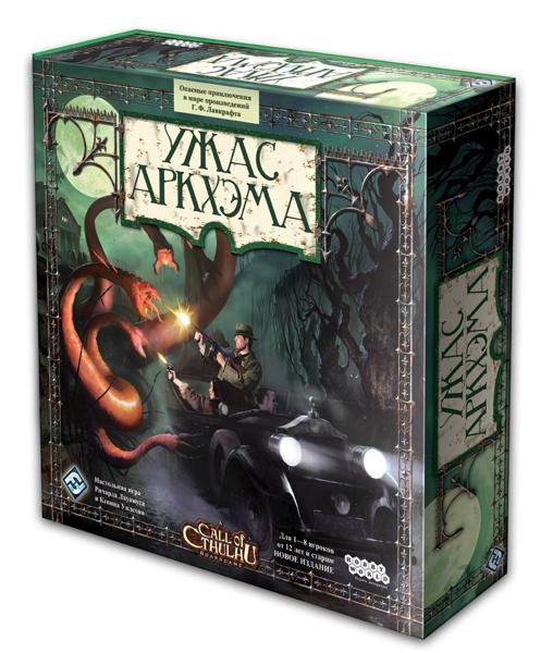 Настольная игра Ужас Аркхэма (новая версия) игра настольная ужас аркхэма король в жёлтом