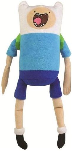 Мягкая игрушка Adventure Time. Finn со звуком (30 см)Мягкая, забавная игрушка  Adventure Time. Finn со звуком, из коллекции плюшевых героев мультсериала Adventure Time может сказать две фразы на английском языке.<br>