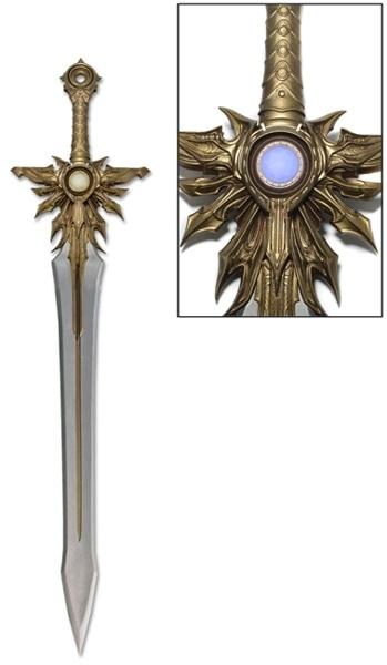 Меч Diablo III Prop Replica El'Druin, The Sword of Justice the bells of el diablo
