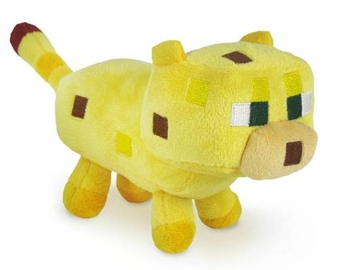 Мягкая игрушка Minecraft. Baby Ocelot (18 см) 3 мягкая игрушка minecraft летучая мышь bat 16536 jazwares