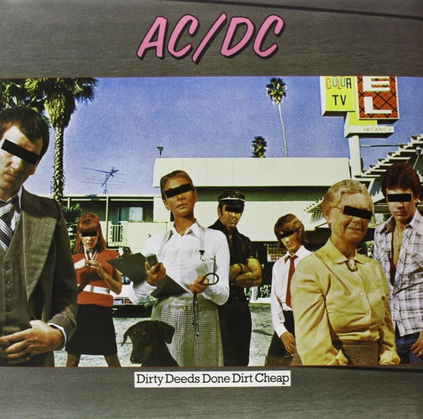 AC/DC. Dirty Deeds Done Dirt Cheap Limited Edition (LP) ac dc dirty deeds done dirt cheap ltd edition 24kt gold lp record