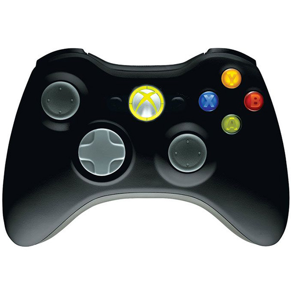 Беспроводной геймпад для Xbox 360 и PC (черный) от 1С Интерес