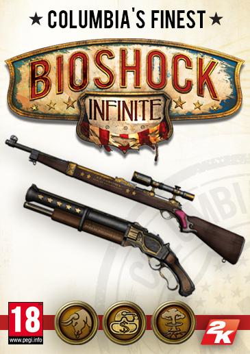Bioshock Infinite. Набор Columbias Finest [PC, Цифровая версия] (Цифровая версия)В Bioshock Infinite. Набор Columbias Finest входят внутриигровые материалы, доступные с самого начала игры. Дополнение позволяет получить новые уникальные элементы снаряжения и улучшения для оружия.<br>