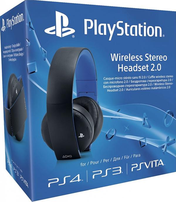 Беспроводная гарнитура для PS4 (черная, с поддержкой PS3 и PS Vita) от 1С Интерес
