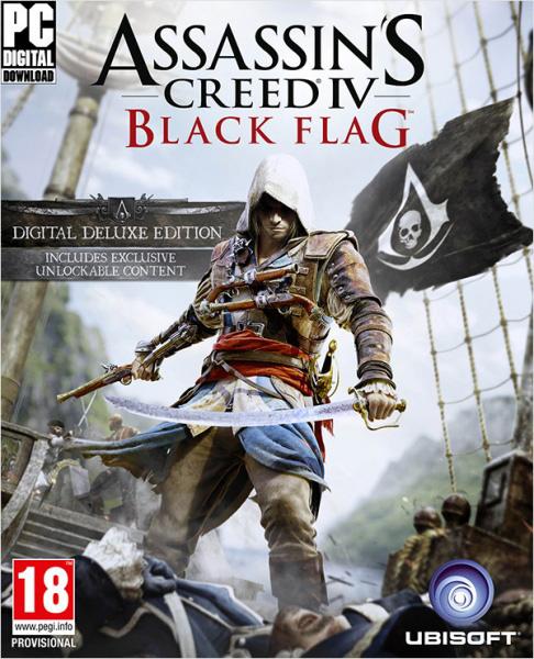 Assassin's Creed IV. Черный флаг. Deluxe Edition [PC, Цифровая версия] (Цифровая версия) dragon ball xenoverse 2 deluxe edition [pc цифровая версия] цифровая версия