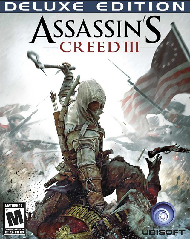 Assassin's Creed III. Deluxe Edition [PC, Цифровая версия] (Цифровая версия) the crew 2 deluxe edition [pc цифровая версия] цифровая версия