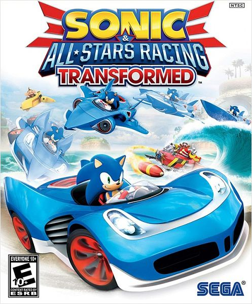 Sonic all-stars racing transformed pc диск