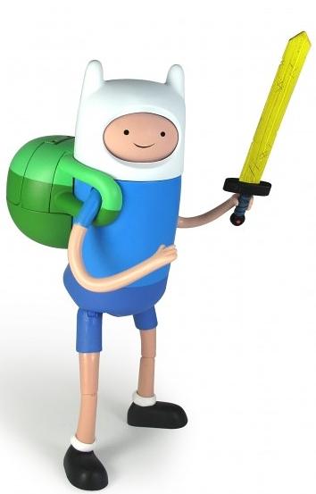 Фигурка Adventure Time. Finn с меняющимся выражением лица (25 см) от 1С Интерес