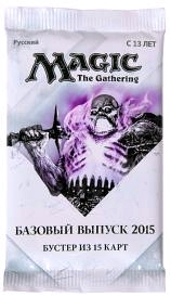 Magic The Gathering:  Базовый выпуск 2015. Бустер из 15 карт (русский) magic the gathering duels of the planeswalkers