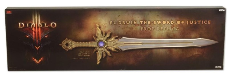 Меч Diablo III Prop Replica El'Druin, The Sword of Justice от 1С Интерес