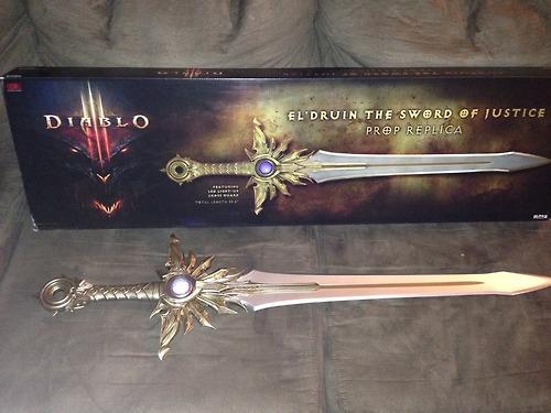Меч Diablo III Prop Replica El'Druin, The Sword of Justice от 1С Интерес