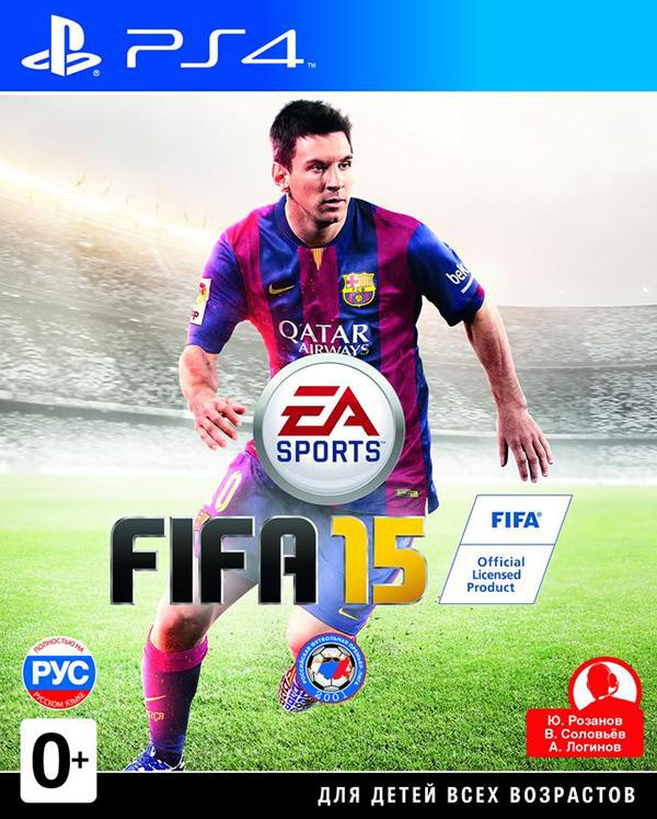 FIFA 15 [PS4]FIFA 15 поднимает реалистичность игрового футбола на новую высоту, благодаря чему поклонники этой игры могут в полной мере пережить напряженность и накал эмоций любимого вида спорта.<br>