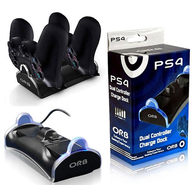 Зарядная станция ORB на 2 геймпада для PS4 от 1С Интерес