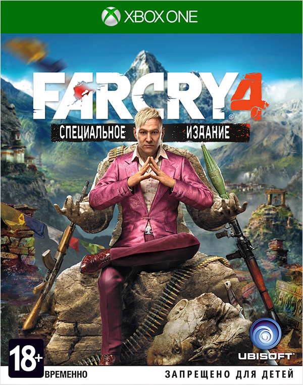 Far Cry 4. Специальное издание [Xbox One]В Far Cry 4 у вас появится возможность исследовать гигантский открытый мир, а заодно опробовать обновленную систему совместной игры.<br>