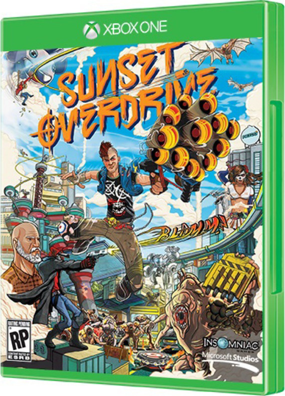 Sunset Overdrive [Xbox One] sleeping dogs definitive edition игра для xbox one