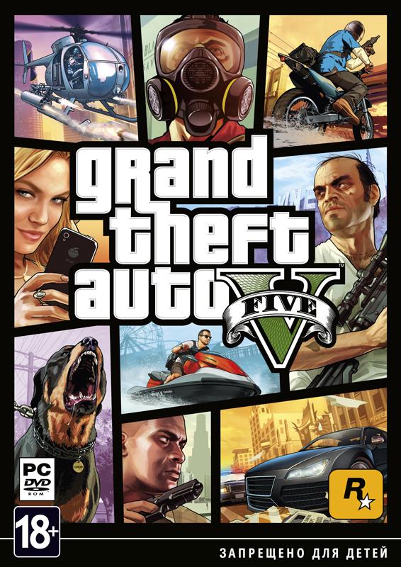 Grand Theft Auto V (GTA 5) [PC]В Grand Theft Auto V поклонников ждет не просто самый огромный и детализированный мир из когда-либо создававшихся Rockstar Games, но и возможность влиять на жизнь и поступки сразу трех главных героев.<br>