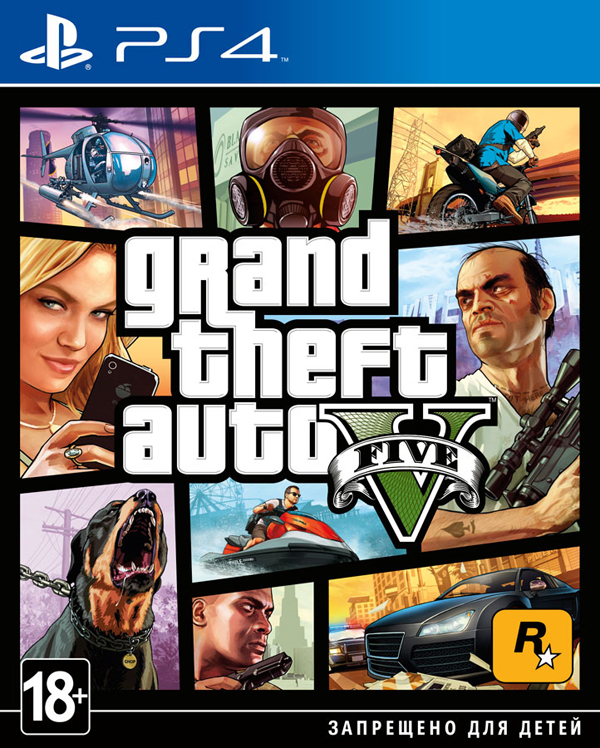 Grand Theft Auto V (GTA 5) [PS4]