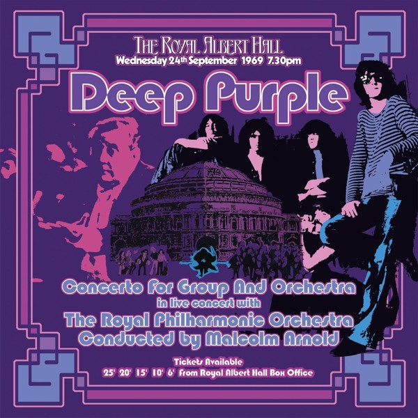 Deep Purple. Concerto For Group And Orchestra (3 LP) виниловая пластинка deep purple concerto for group and orchestra