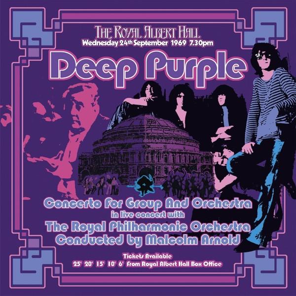 Deep Purple. Concerto For Group And Orchestra (3 LP)В первые годы группы Deep Purple Джон Лорд написал несколько масштабных работ. Deep Purple. Concerto For Group And Orchestra записан 24 сентября 1969 в лондонском Royal Albert Hall.<br>