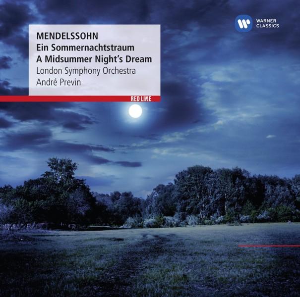 Mendelssohn: Ein Sommernachtstraum – A Midsummer Nights Dream (CD)Mendelssohn. Ein Sommernachtstraum. A Midsummer Nights Dream &amp;ndash; концертная увертюра и музыка Феликса Мендельсона для одноименной комедии Уильяма Шекспира в исполнении London Symphony Orchestra и Andre Previn.<br>