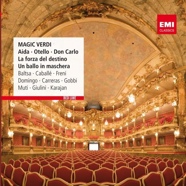 Magic VerdiMagic Verdi &amp;ndash; произведения итальянского композитора Джузеппе Верди, творчество которого является одним из крупнейших достижений мирового оперного искусства и кульминацией развития итальянской оперы XIX века.<br>
