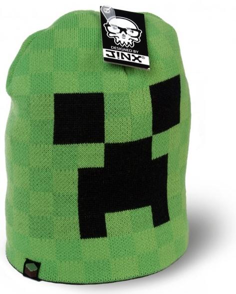 Вязаная шапка Minecraft. Creeper Face (зеленая) (L/XL)Вязаная шапка Minecraft. Creeper Face &amp;ndash; высококачественная шапка для настоящих ценителей компьютерных игр.<br>