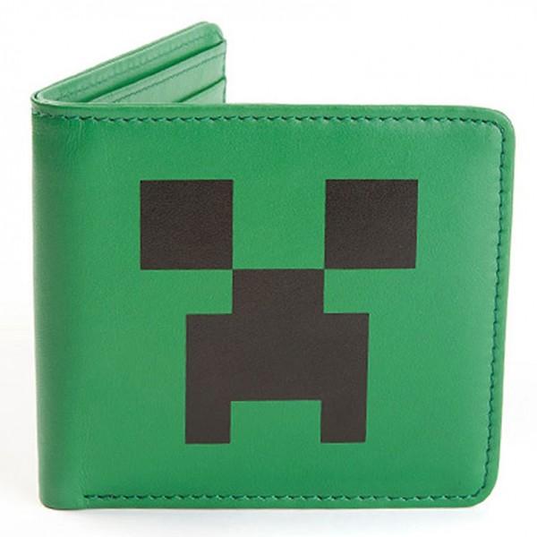 Кошелек Minecraft. Creeper face (зеленый)Кошелек Minecraft. Creeper face  &amp;ndash; эксклюзивный кошелек, специально изготовленный по мотивам игры Minecraft для настоящих ценителей компьютерных игр.<br>