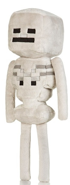 Мягкая игрушка Minecraft. Skeleton (30 см)