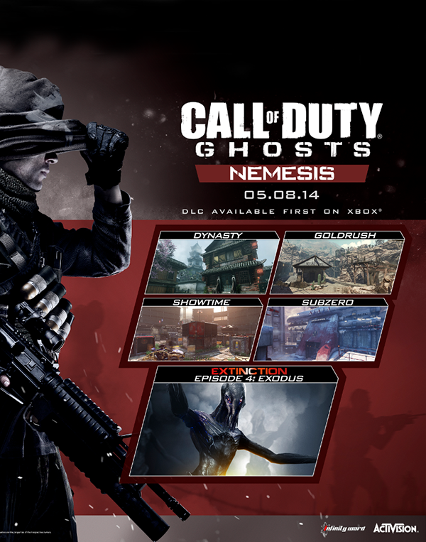 Call of Duty. Ghosts. Nemesis. Дополнение