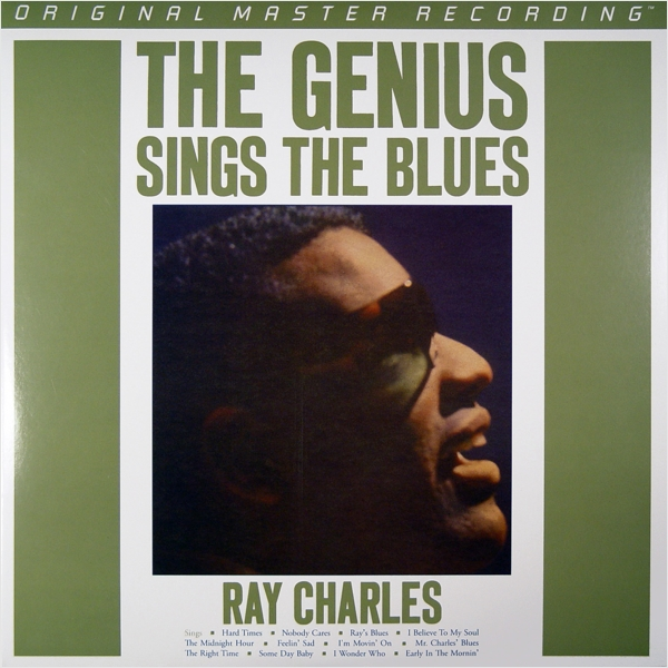 Ray Charles. The Genius Sings The Blues (LP)